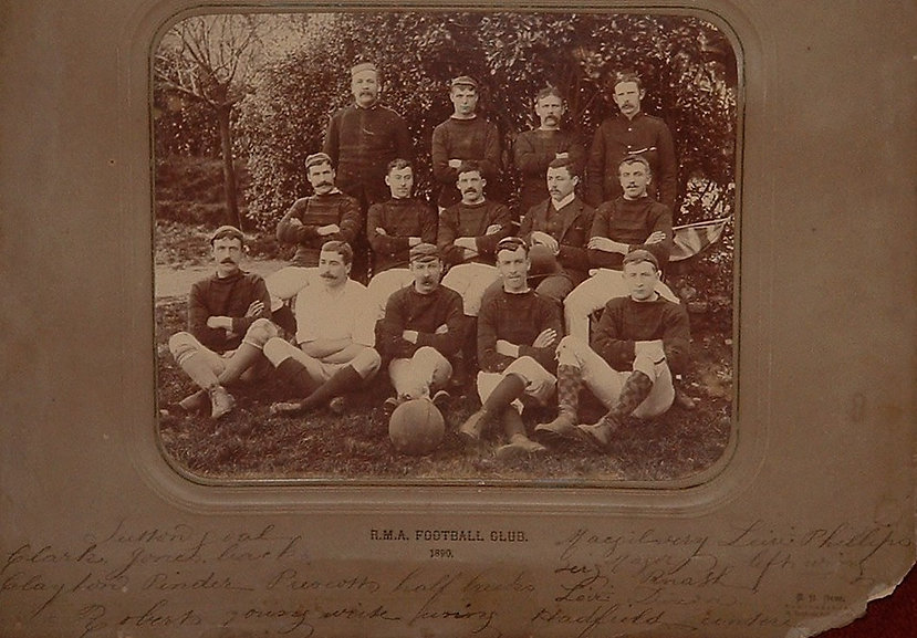 Royal Marines Artillery Football Club 1890