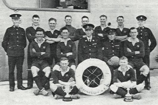 1931-33 HMS Warspite, Royal Marines