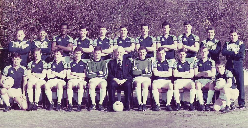1982 Royal Navy FA Squad