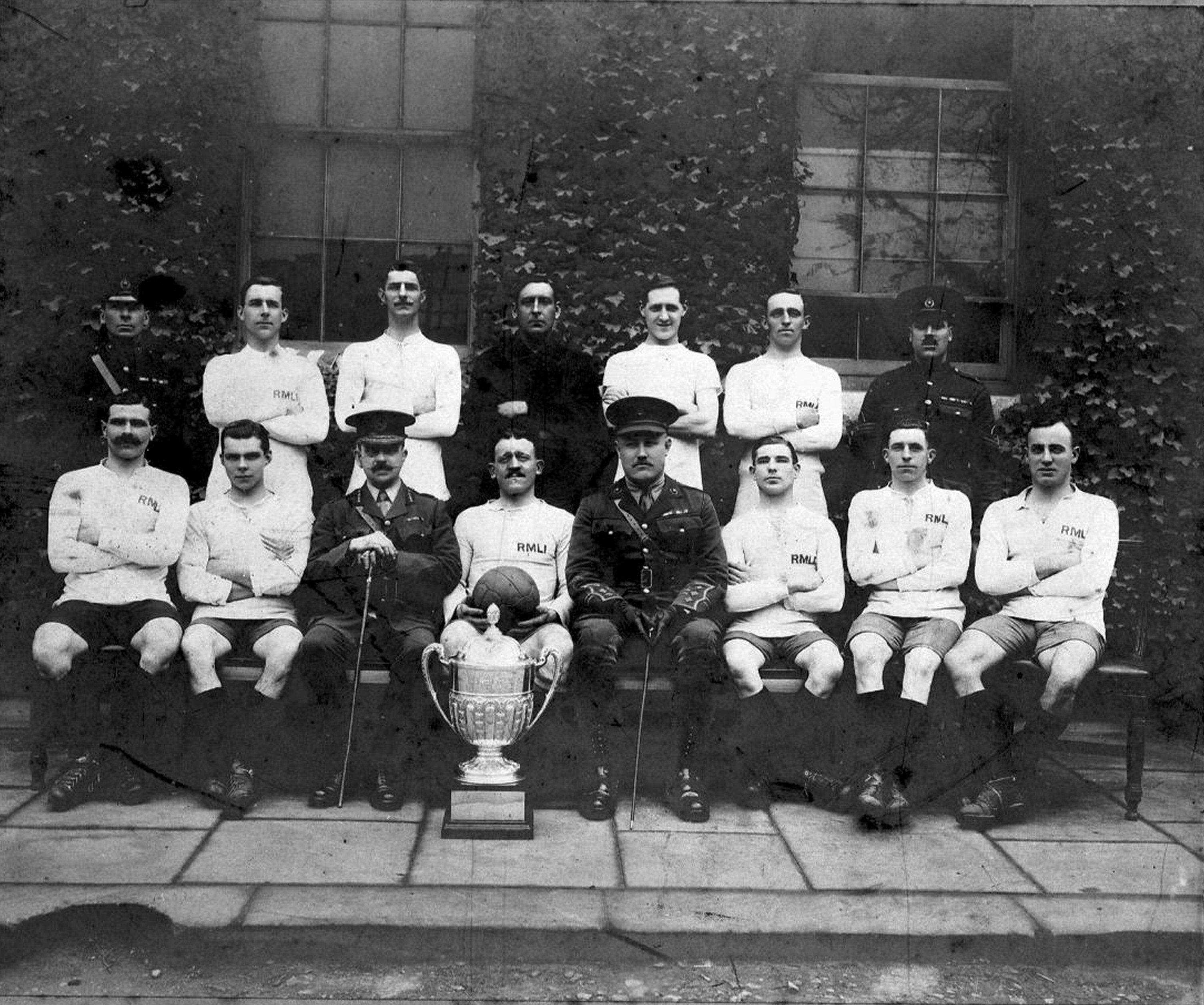 1919-20 RN Cup Winners Chatham RMLI