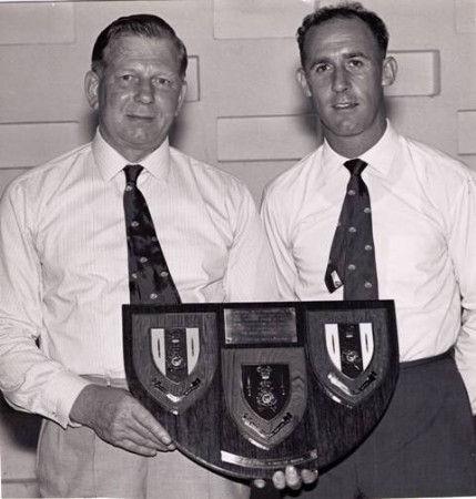 John Brown & John Ellis Royal Marines Football