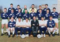 1992-93 Royal Navy FA Squad