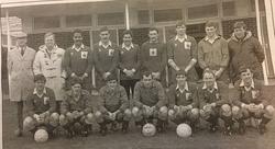 1981 Royal Marines Football Team