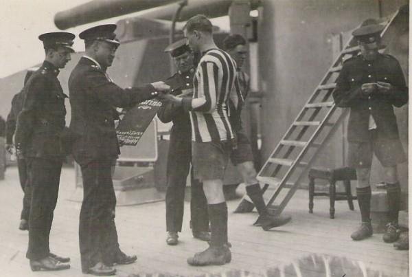 1920-21 Royal Marines HMS Barham