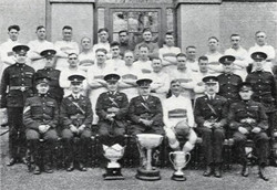 1934 Tunney Cup Winners Plymouth Division RM