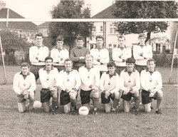 1975/6 Royal Marines Football team