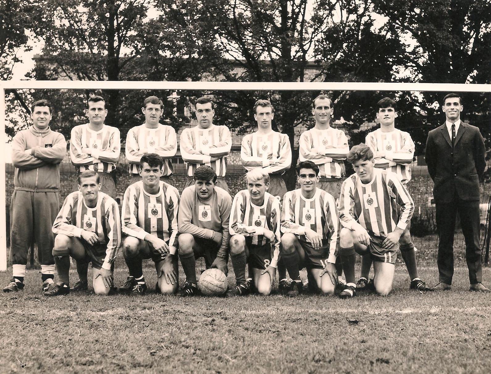 1968-69 Royal Marines Football Team