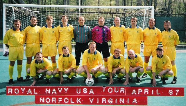 1997 Royal Navy FA April