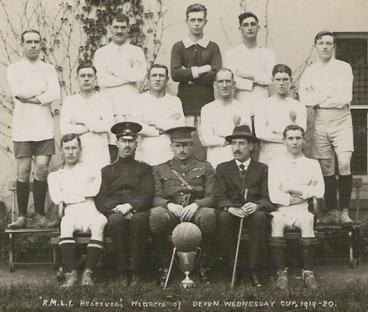 1919-20 RMLI Plymouth Reserves