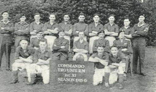 1945 - 46 Commando Trg Unit 1st Xl Football Team
