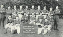 1945 - 46 Commando Trg Unit 1st Xl Football Team