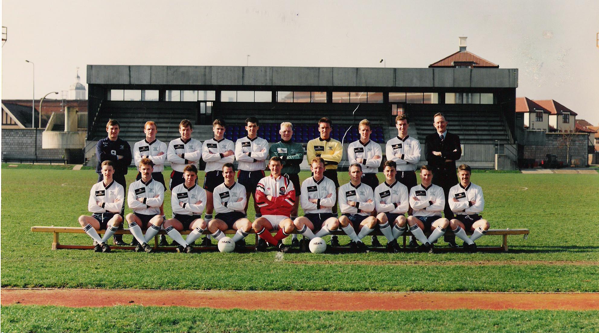 1991 Royal Navy FA Squad