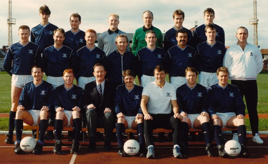 1989 Royal Navy FA Squad