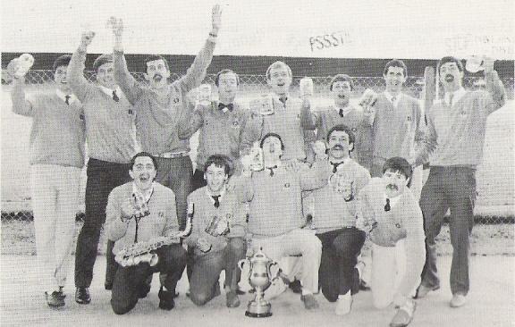 1985 Jubilee Cup Winners CTCRM 2