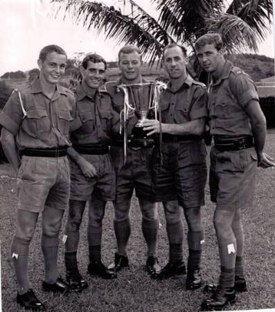 1969 Presidents Cup Winners Royal Marines