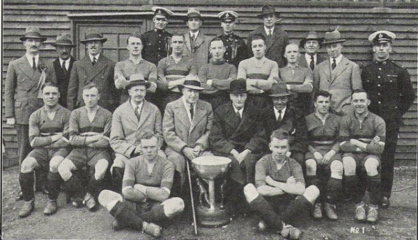 1929 Tunney Cup Winners Chatham Div RM