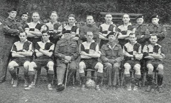 1944-45 Home Base Ledger Football Team