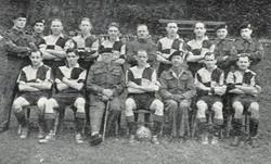 1944-45 Home Base Ledger Football Team