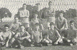 1924 RM Football team of HMS Southampton