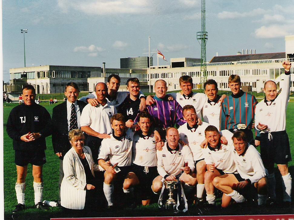 1996 Royal Navy Inter Service Champions