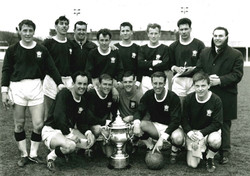 1965-66 Inter Services Winners Royal Navy