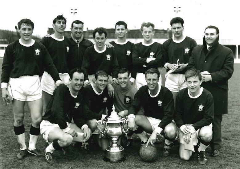 1965-66 Inter Services Winners Royal Nav