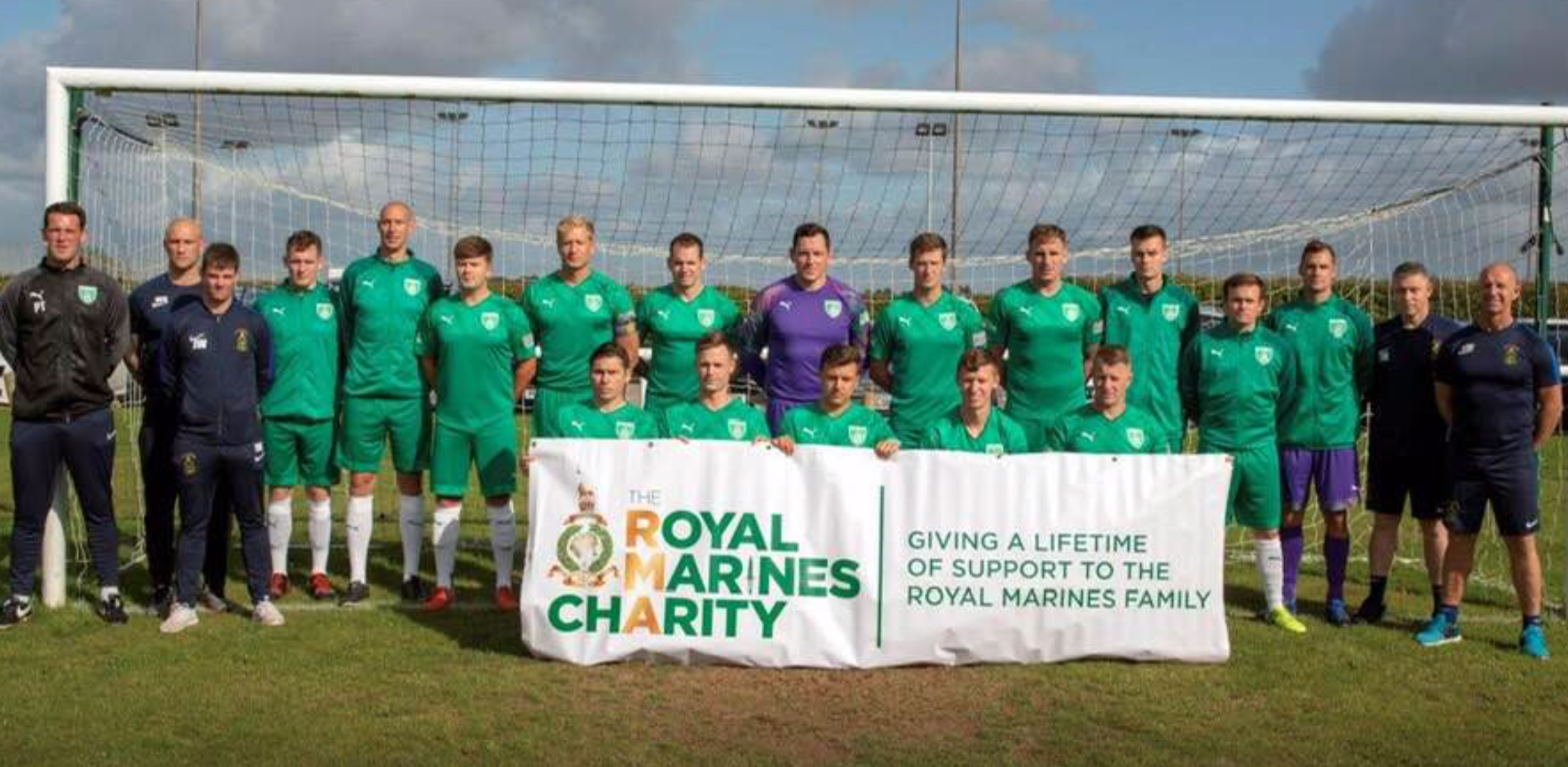 2019 Royal Marines FA Combat Cup winners