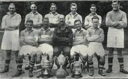 1942-43 3rd Battalion Royal Marines Football Team.