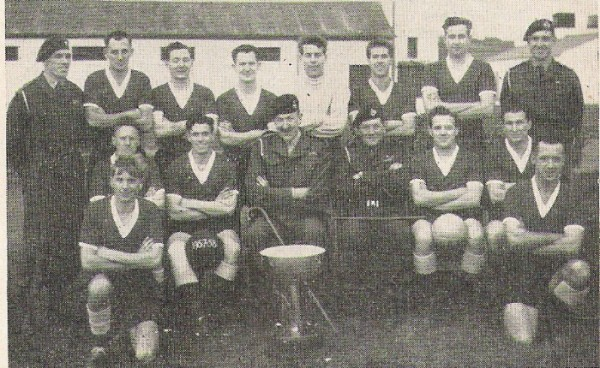1957 Tunney Cup Winners 42Cdo Royal Marines