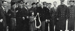 1947 Tunney Cup send off, Portsmouth