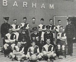 1929-30 HMS Barham RM Det