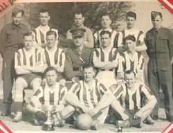 1941 - 1943 Royal Marines Division Football team