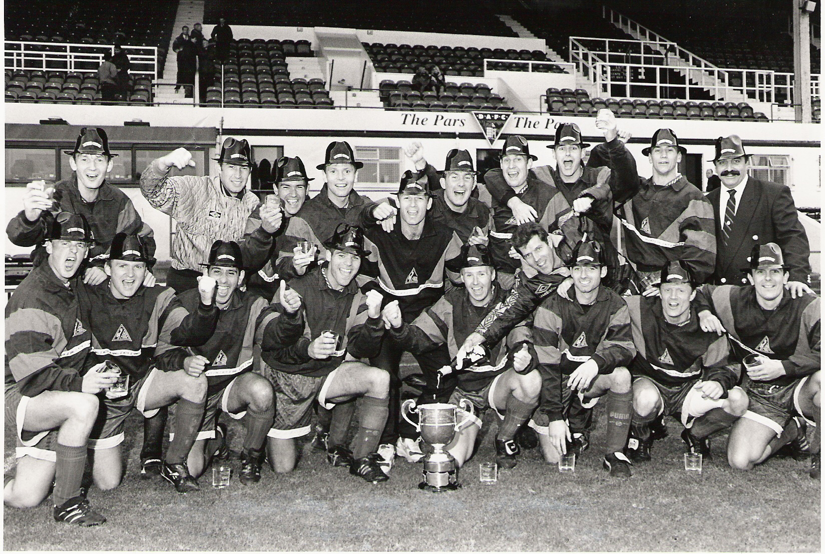 1995 Inter Commands winners Royal Marine
