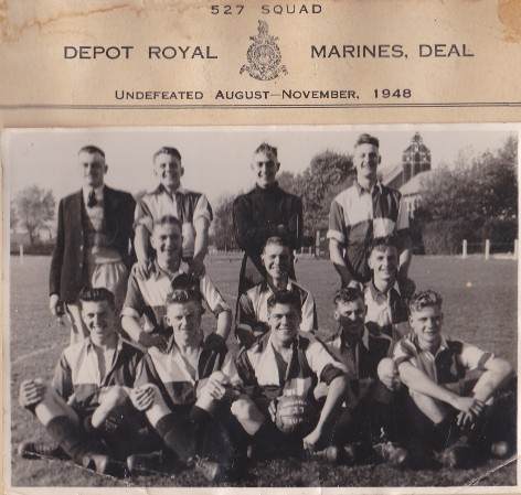 Depot Royal Marines Deal 1948