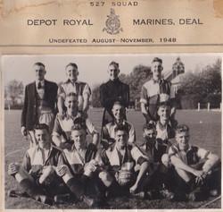 Depot Royal Marines Deal 1948