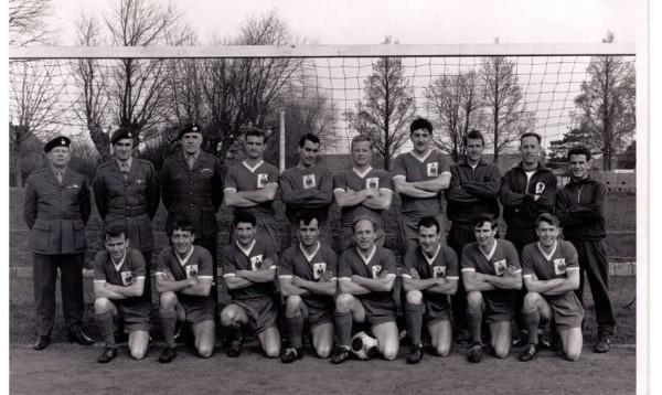 1966/67 Royal Marines Football Team