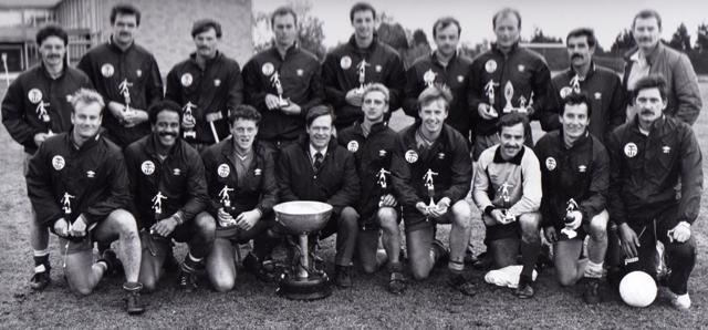 1984 Tunney Cup Winners RM Poole