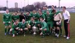 2010 45Cdo Navy Cup winners