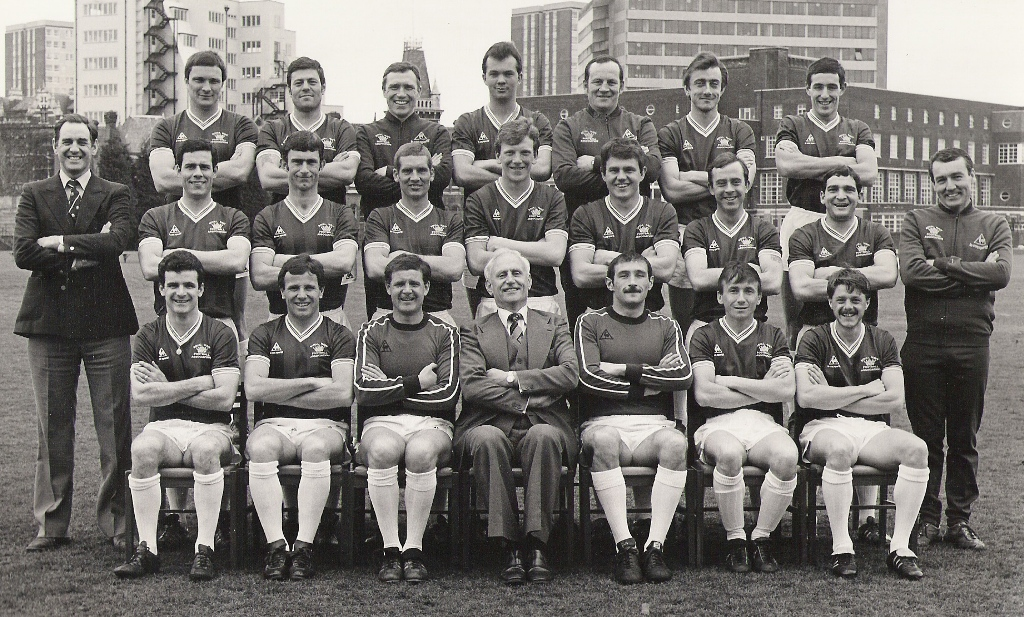 1983 Royal Navy FA Squad