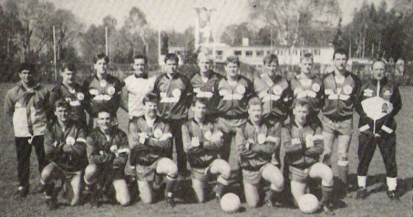 1990 Royal Marines Football tour to Holland & Germany