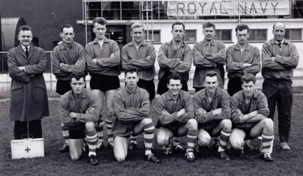1964-65 Depot RM Deal Navy Cup Final