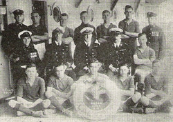1928 HMS Caedon Royal Marines