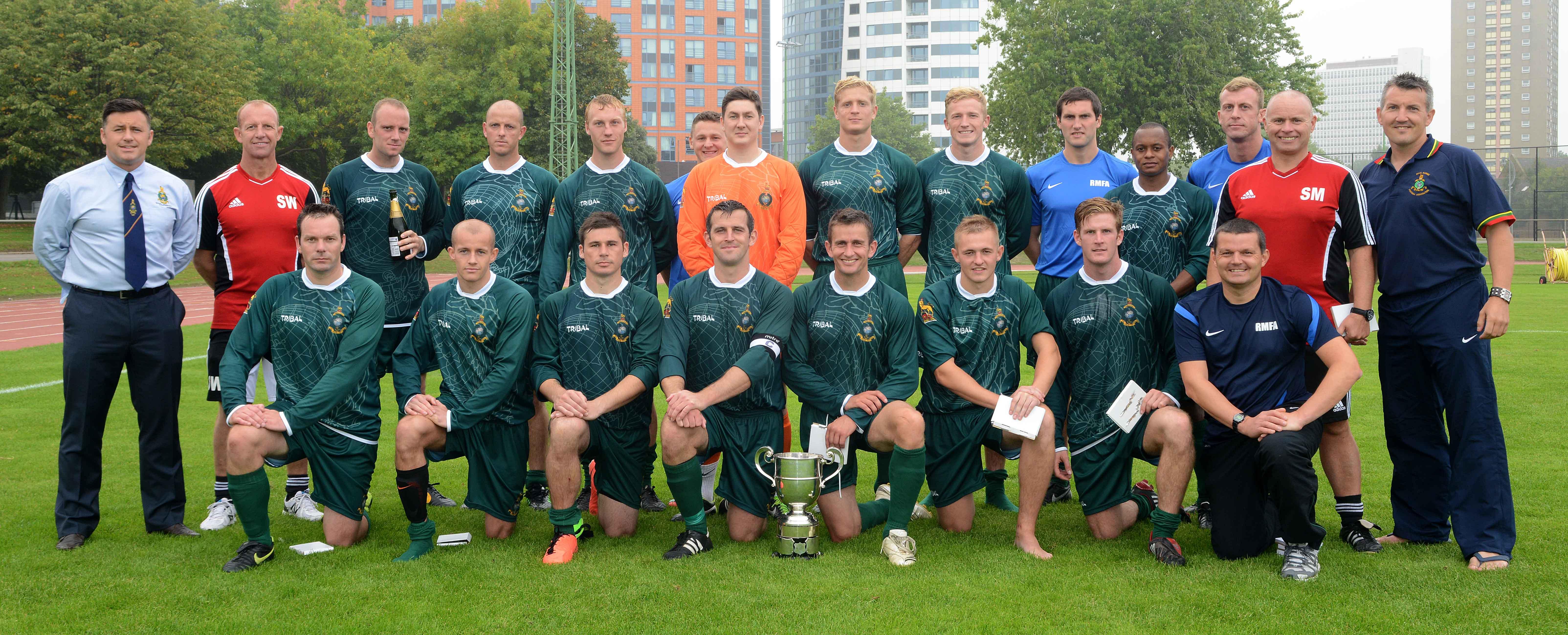 2013 Inter Commands Winners RMFA