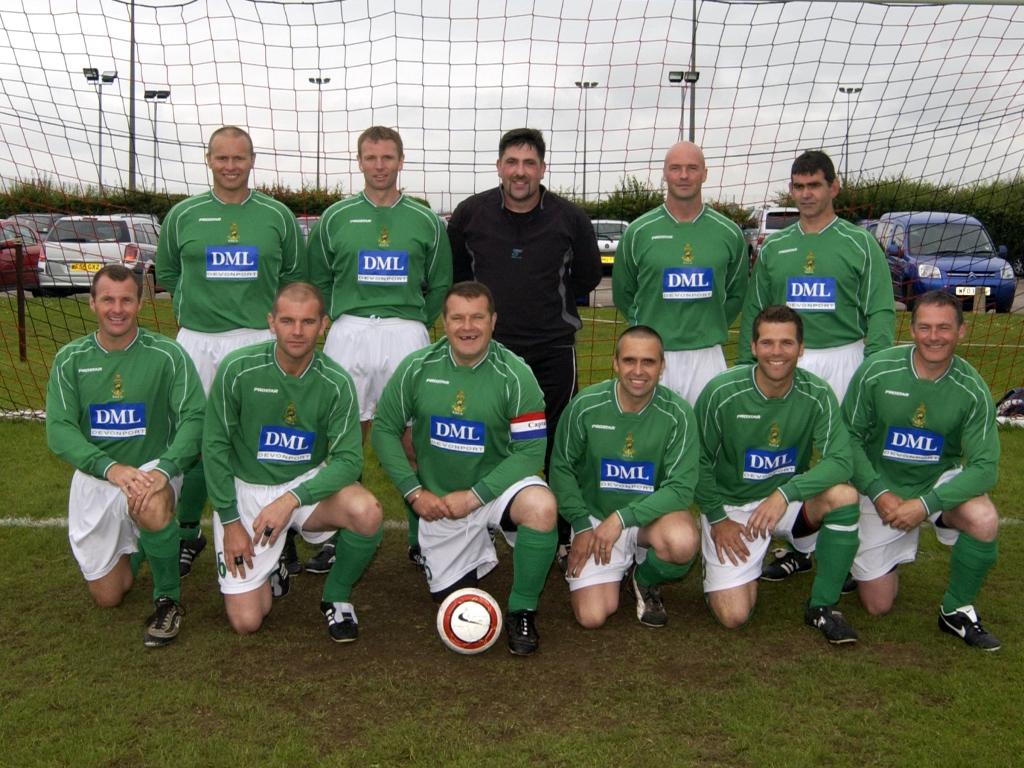 2007 Vets Reunion Globes team