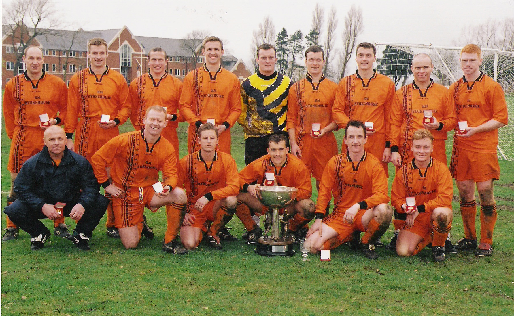 2001 Tunney Cup Winners UKLFcsg