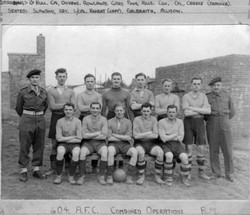 1943 604 A.F.C Combined Operations Royal Marines