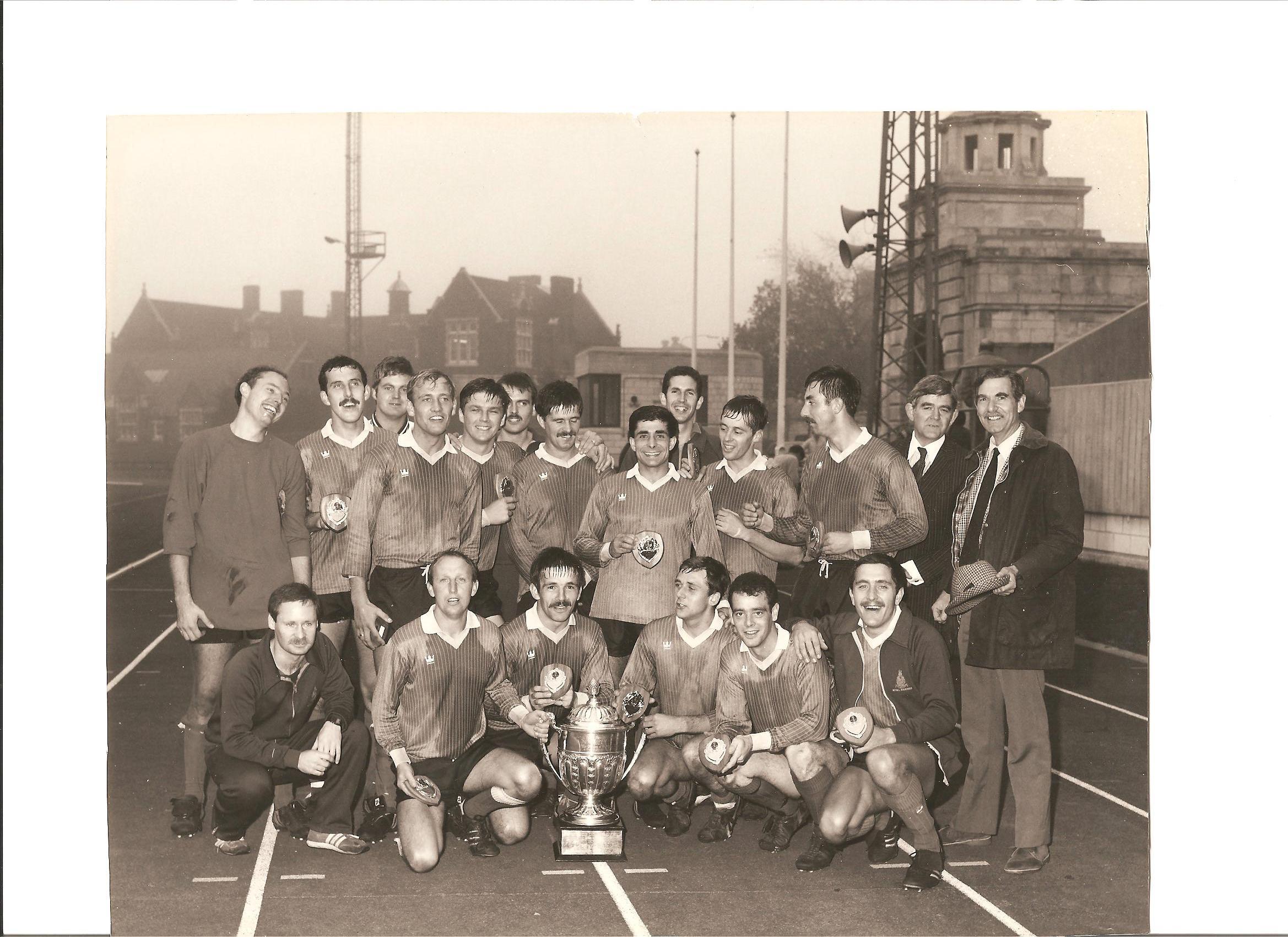 1985 Navy cup winners CTCRM 2 HMS Nelson