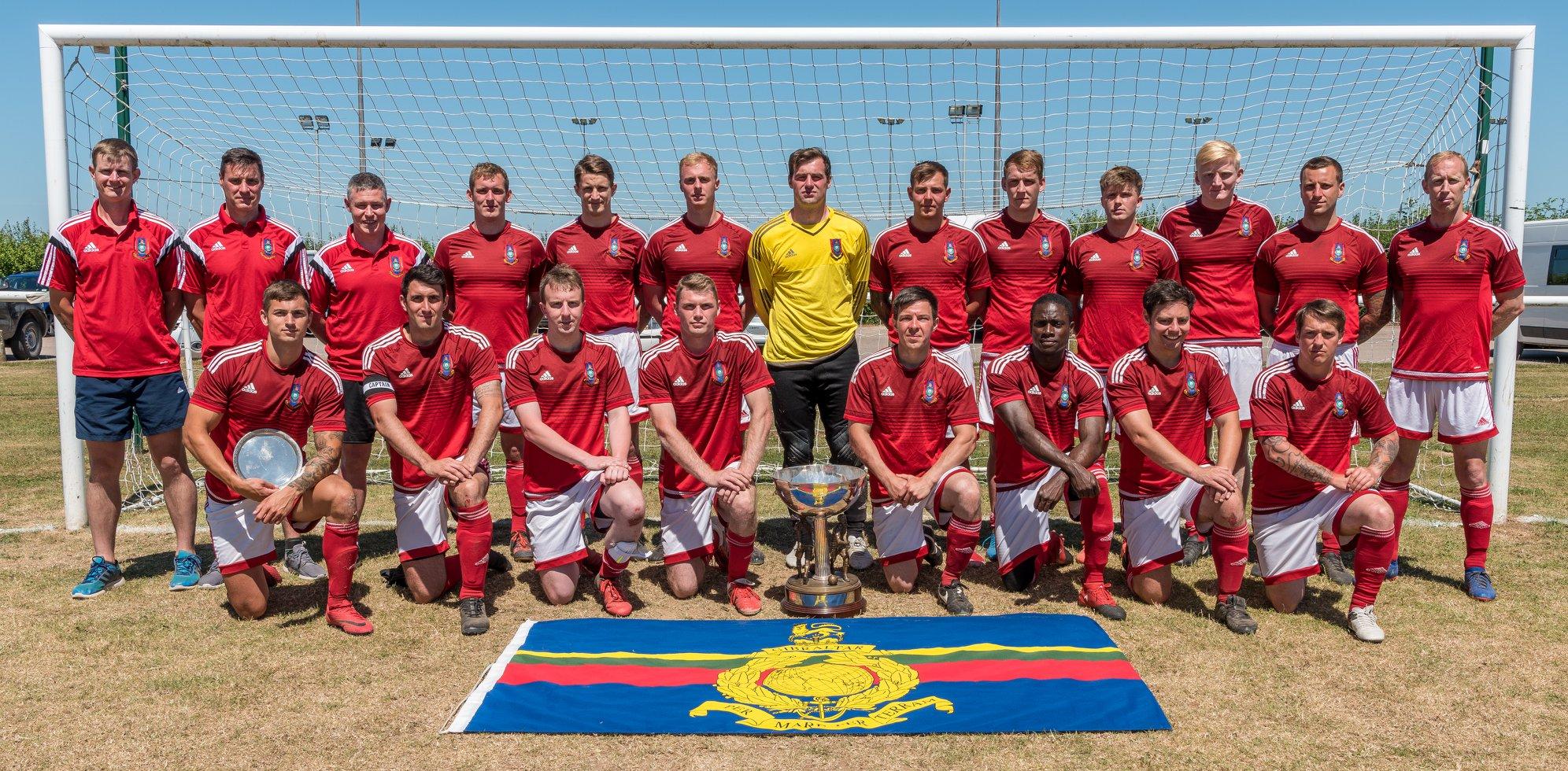 2018 Tunney Cup Winners 45Cdo RM