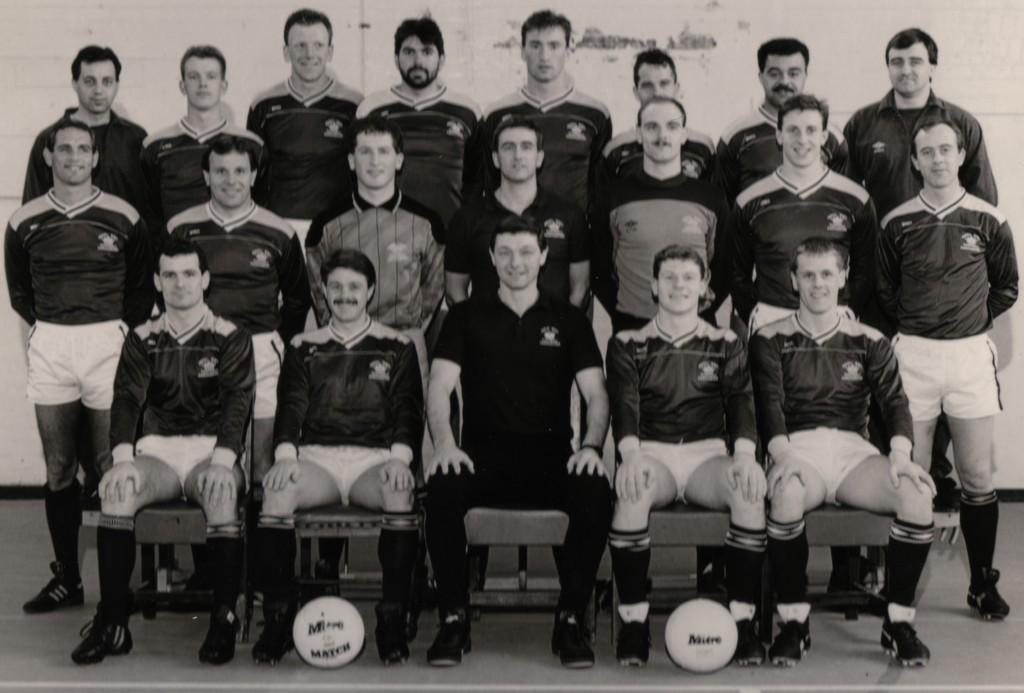 1987-88 Royal Navy FA Squad