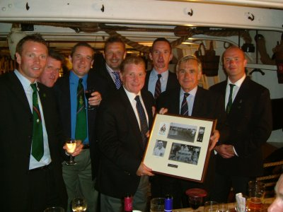2004 RNFA cenenary dinner on HMS Warrior